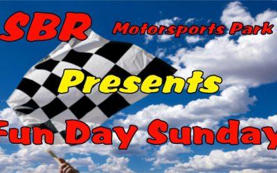 Announcing Fun Day Sunday!