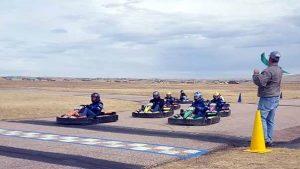 Outdoor Go Kart Racing